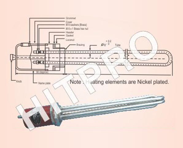 Industrial Water Heating Elements